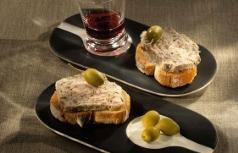 pâtés canard piment espelette olive cèpes