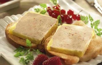 bloc foie gras oie