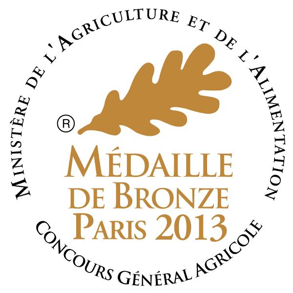 Médaille de Bronze au Concours Général Agricole 2013 Lafitte Foie Gras