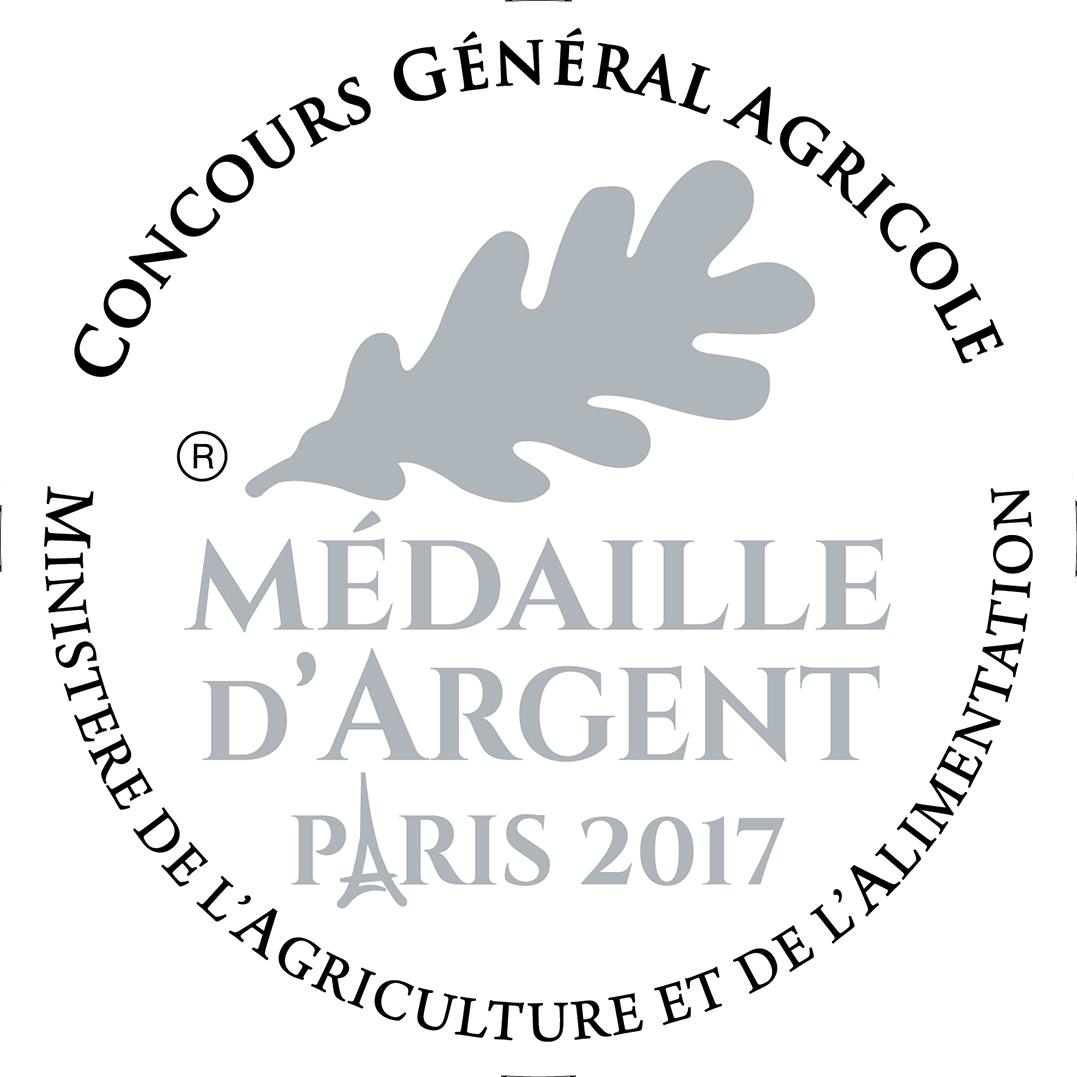 Medaille d'argent au concours général agricole