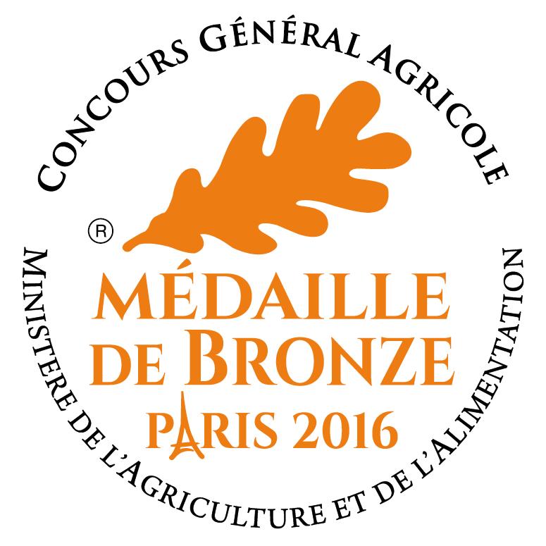 Médaille de bronze 2016