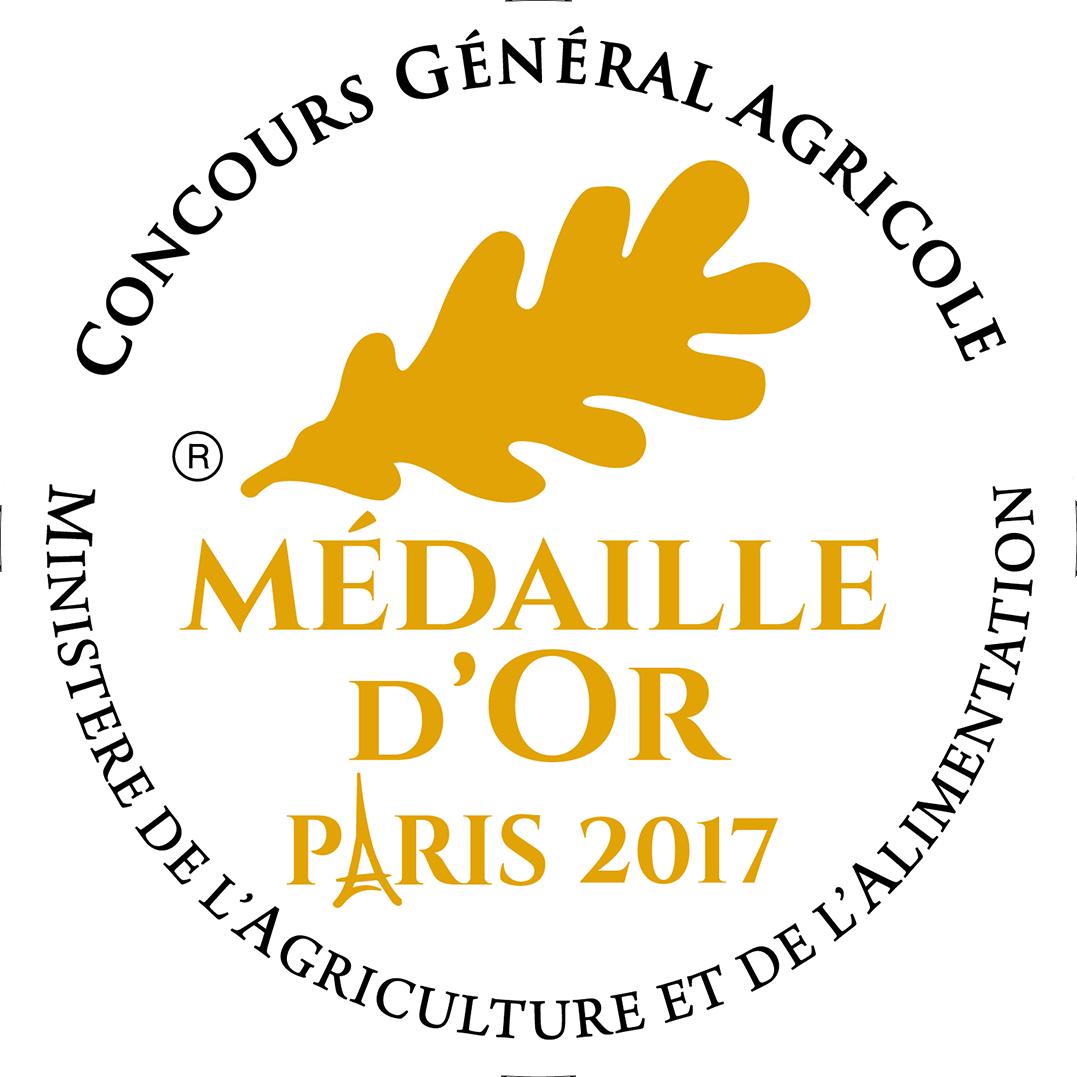 Médaille d'or 2017