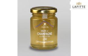 Gelée de Champagne aux Paillettes d'Or