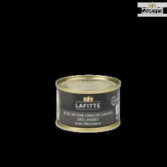 Bloc de Foie Gras de Canard des Landes 30% Morceaux