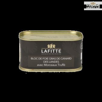 Bloc de Foie Gras de Canard des Landes 30% morceaux Truffé