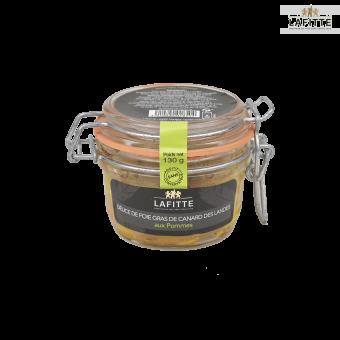 Délice de Foie Gras de Canard des Landes aux Pommes