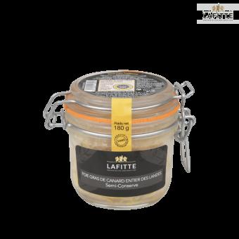 Foie Gras de Canard Entier des Landes Semi-Conserve