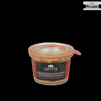 Foie Gras de Canard Entier des Landes au piment d'Espelette- Semi-conserve