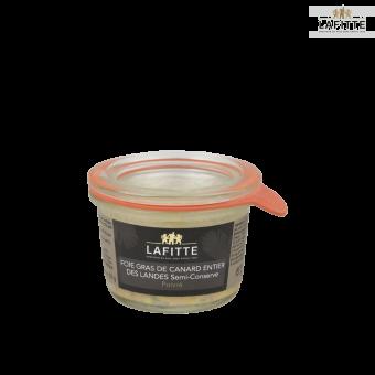 Foie Gras de Canard Entier des Landes Poivré- Semi-conserve