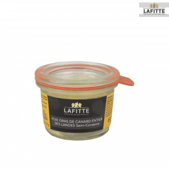 Foie Gras de Canard Entier des Landes- Semi-conserve