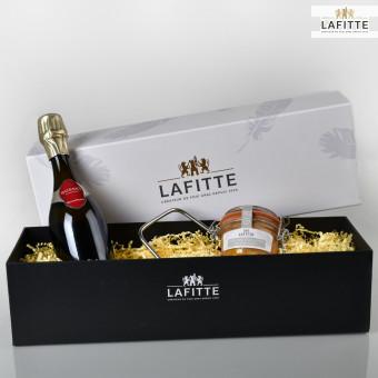 Coffret Oie et Champagne en Tête à Tête