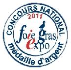 medaille argent foie gras expo lafitte foie gras