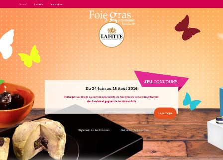 Jeu Concours Lafitte foie gras