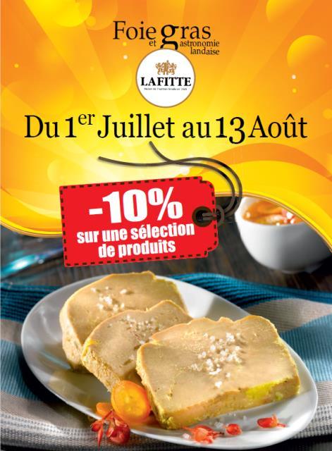 Promotion  Lafitte foie gras