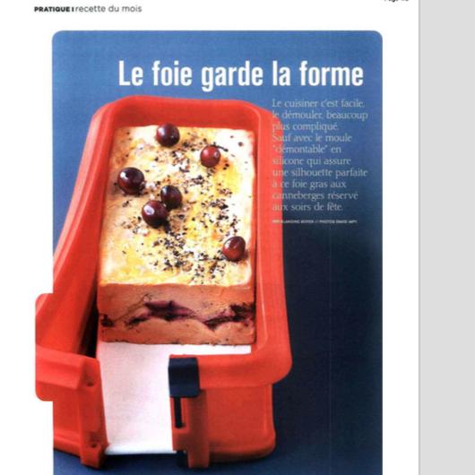recette produit Lafitte Marie Claire