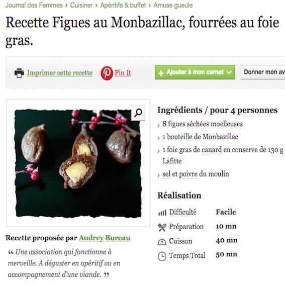 recette au foie gras le journal des femmes