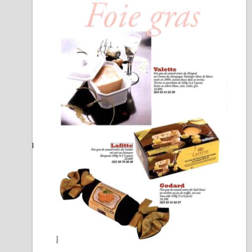 Foie Gras de Canard au Jurançon