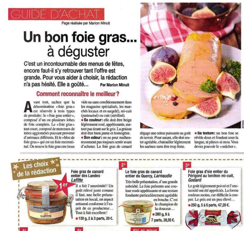Le foie gras poivré Lafitte : le meilleur