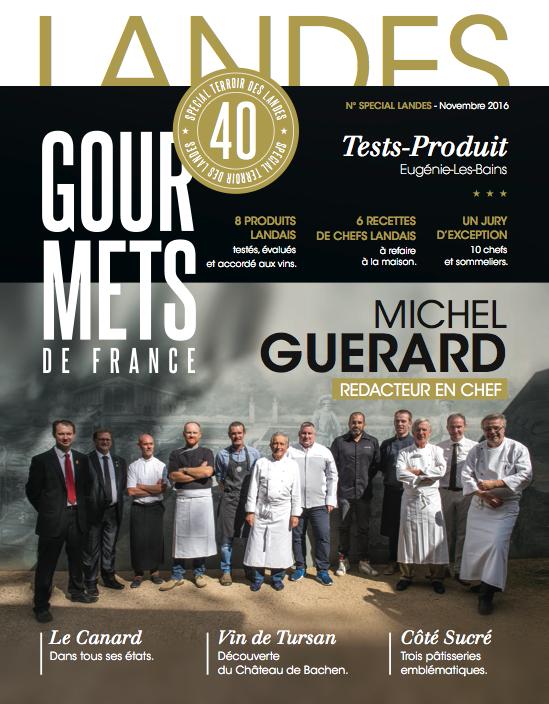 couverture Gourmets de France novembre 2016