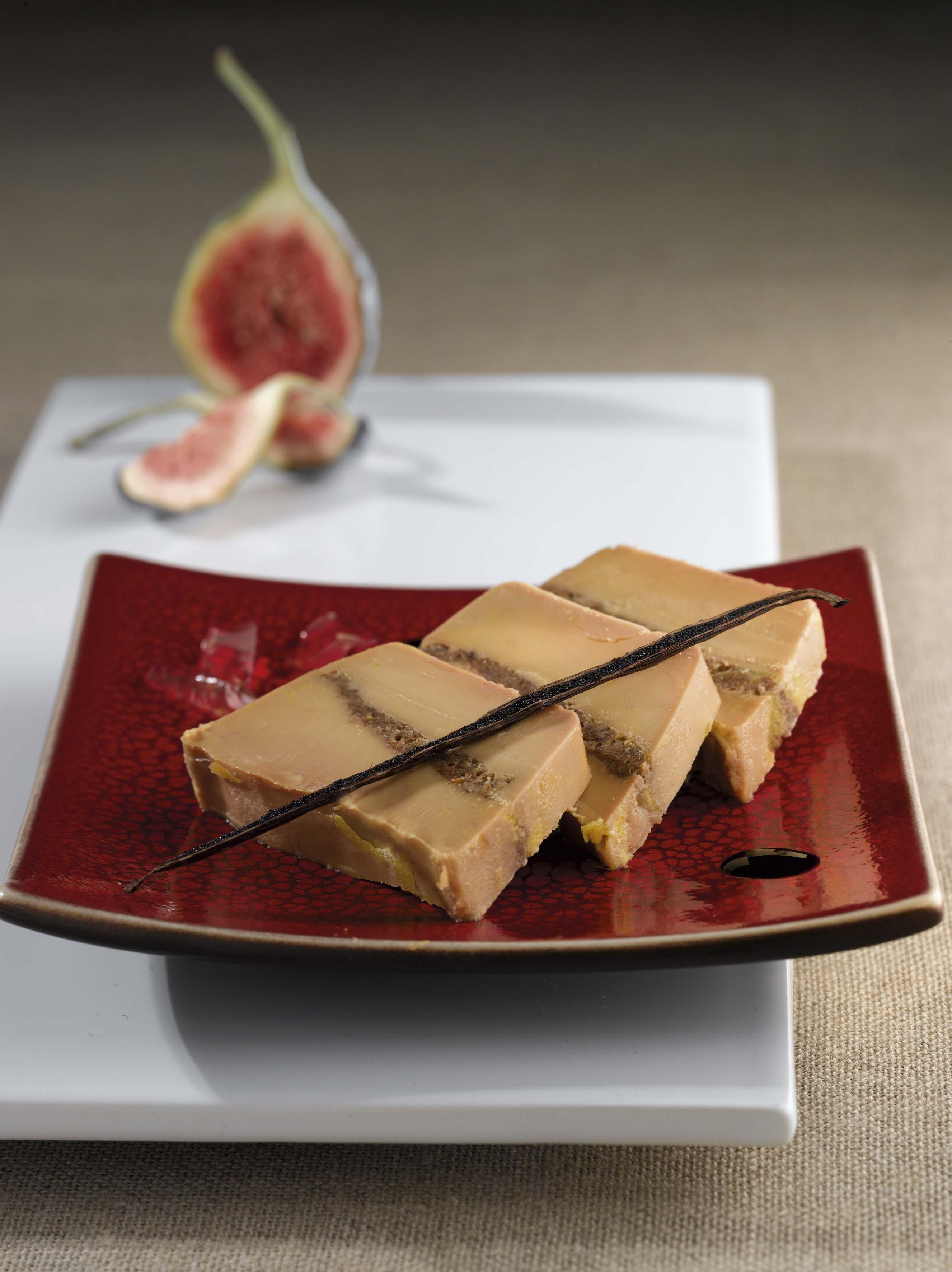 foie gras de canard aux figues