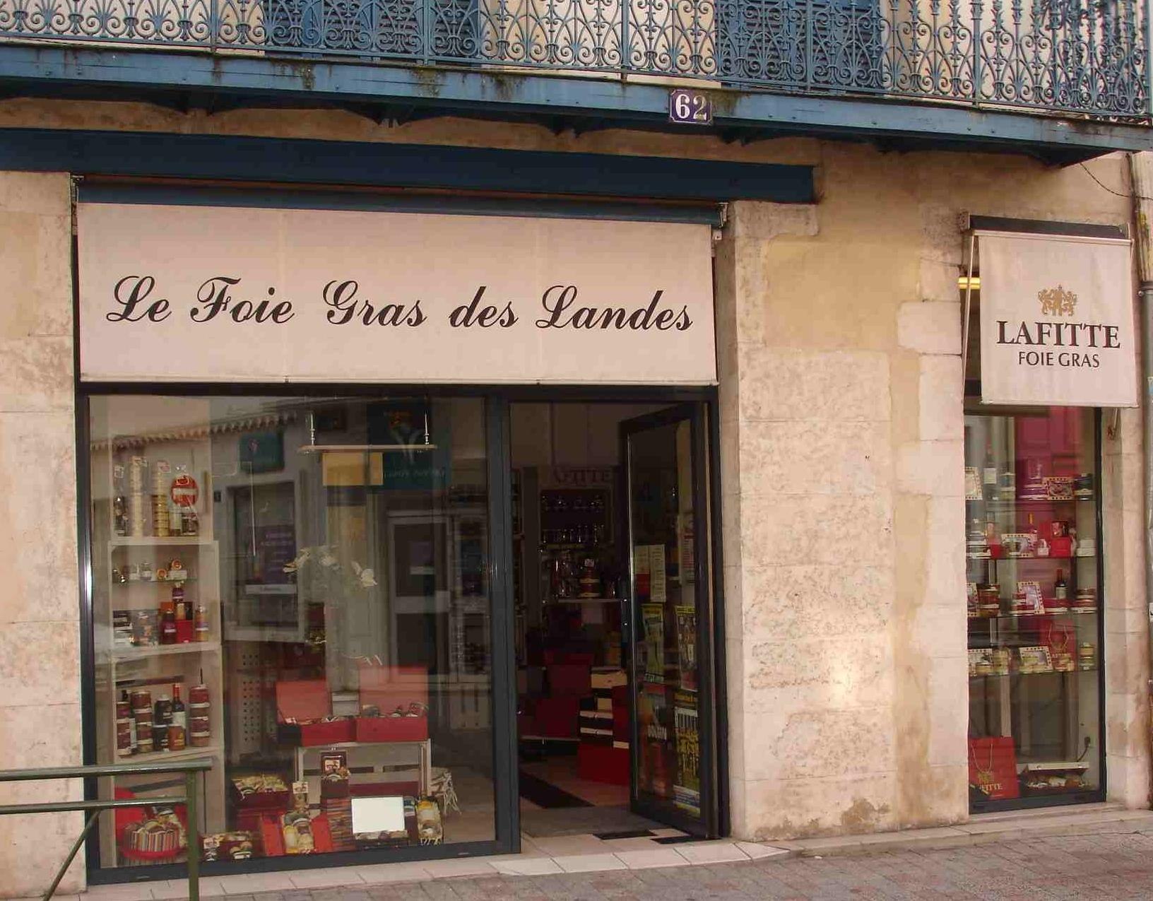 Lafitte-foie-gras-mont-de-marsan-boutique
