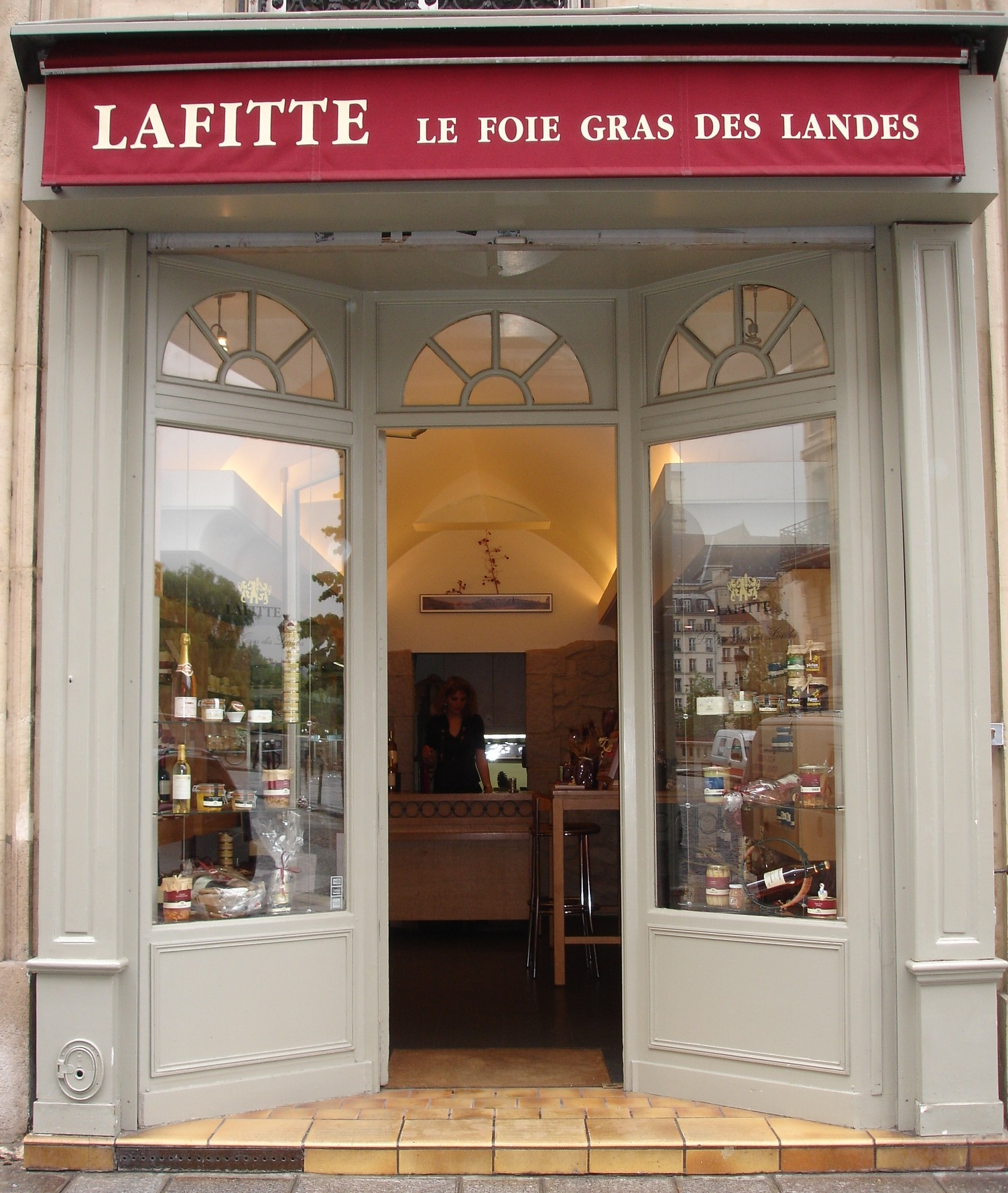paris lafitte foie gras