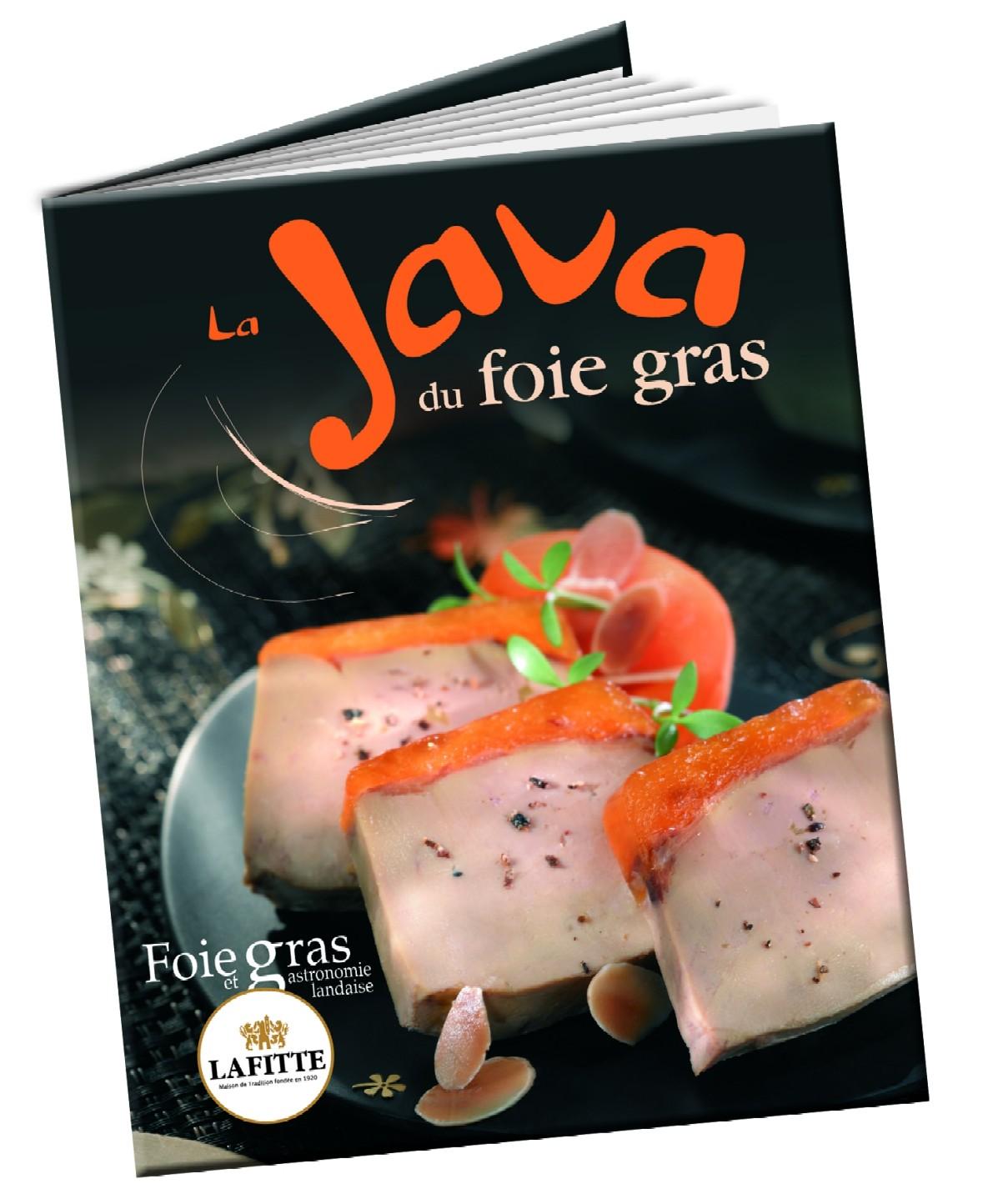 Livre de recettes - La Java du Foie Gras