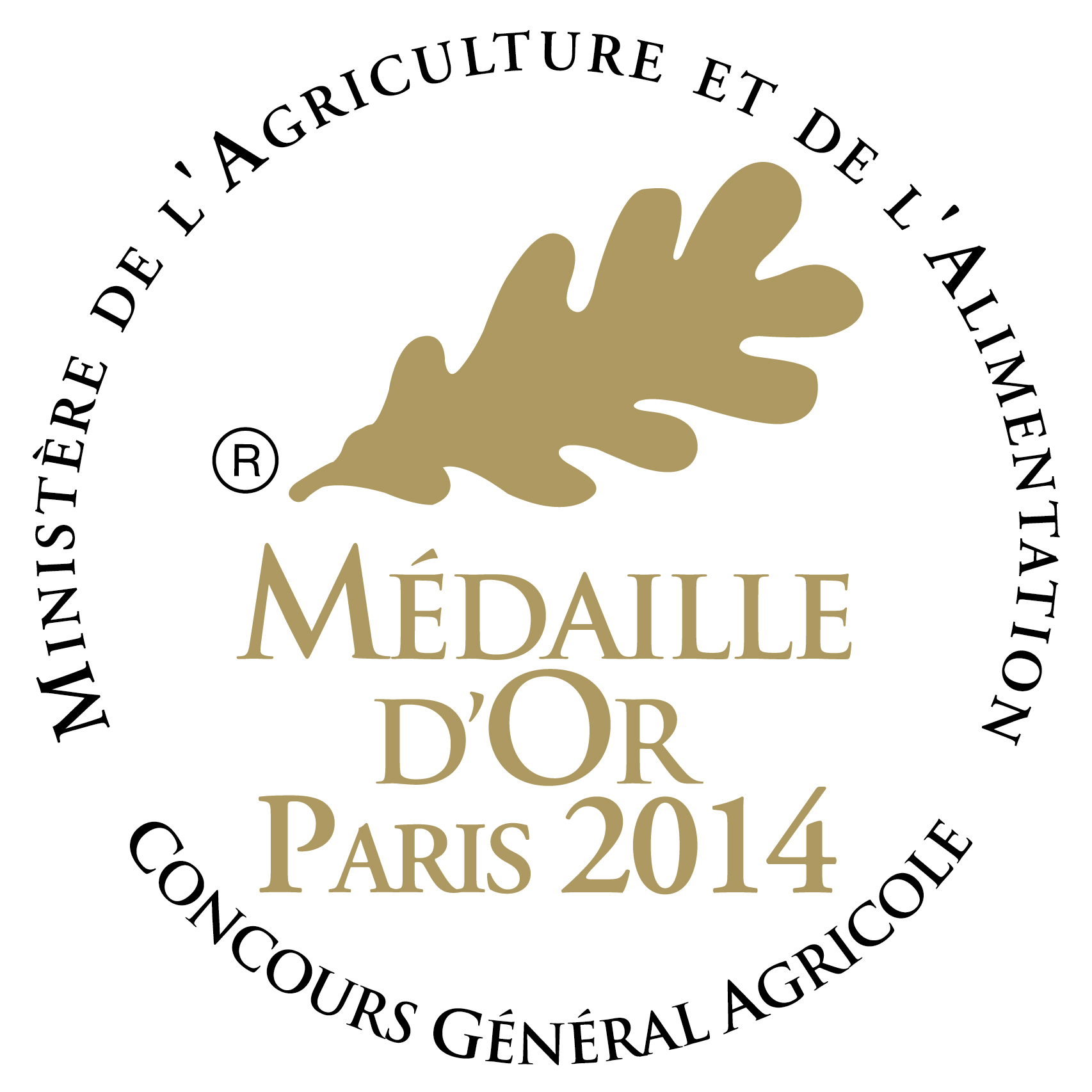 Médaille d'Or 2014
